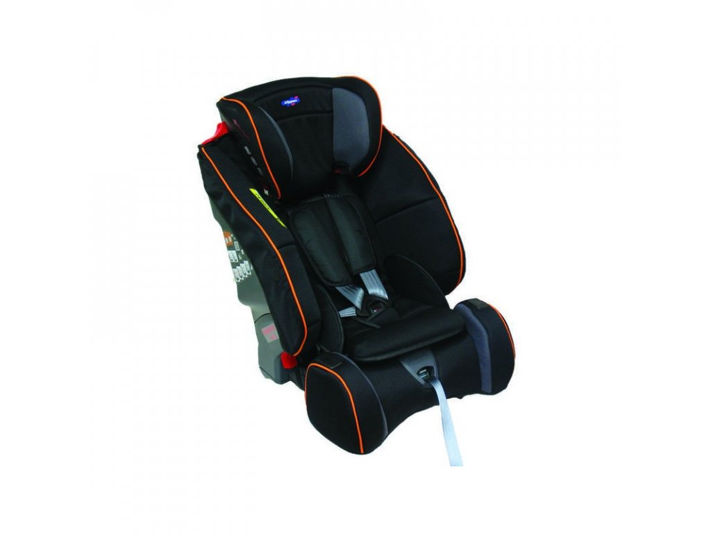 klippan triofix maxi black orange