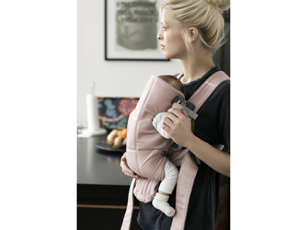 vyr 254 Baby Carrier Mini Dusty pink Cotton