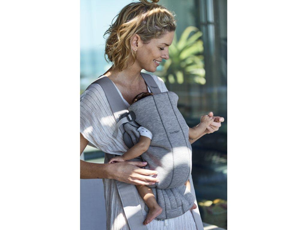 vyr 257 Baby Carrier Mini Light grey 3D Jersey
