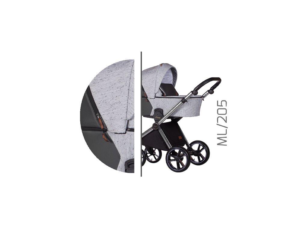 Kočárek BABY MERC Mango Limited ML/205 2021