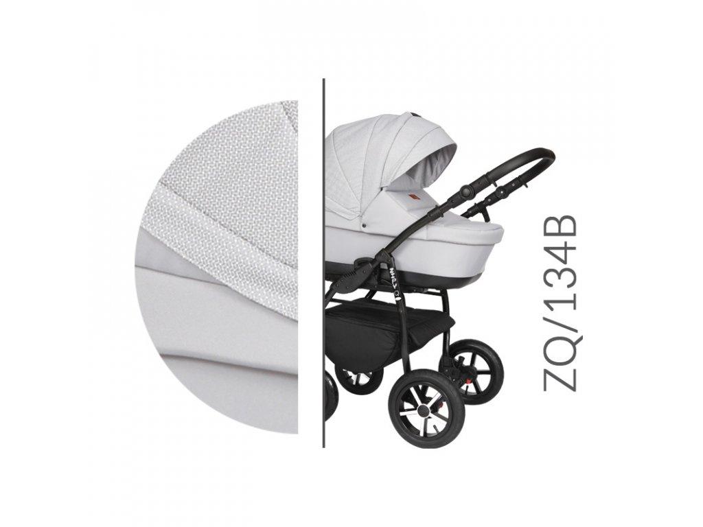 Kočárek BABY MERC Zipy Q - ZQ 134 2019