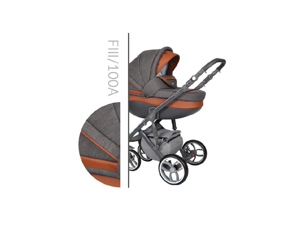 Kočárek BABY MERC Faster 3 Style - F3 100 2021
