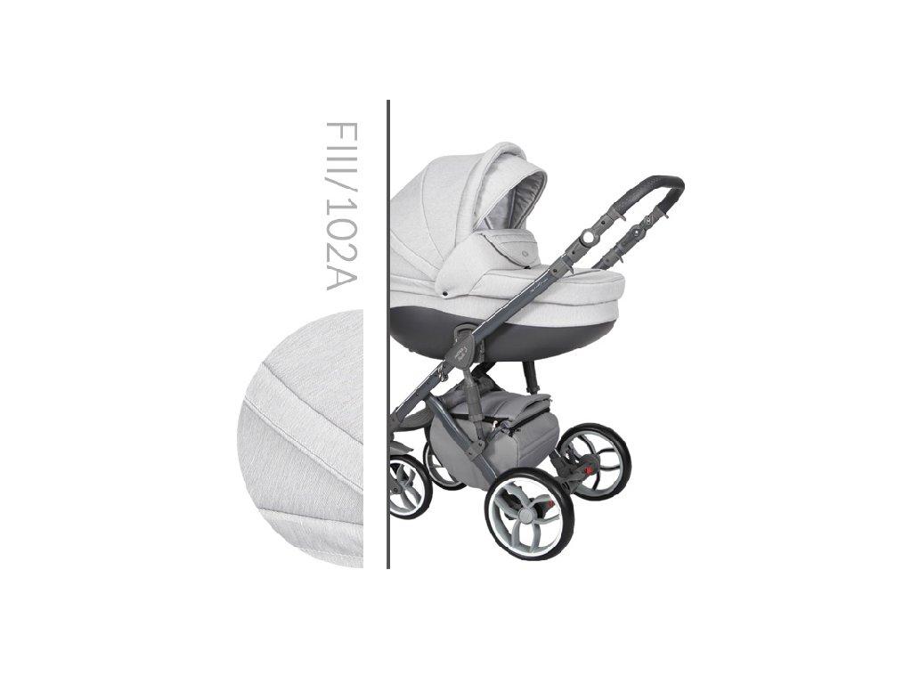 Kočárek BABY MERC Faster 3 Style - F3 102 2020