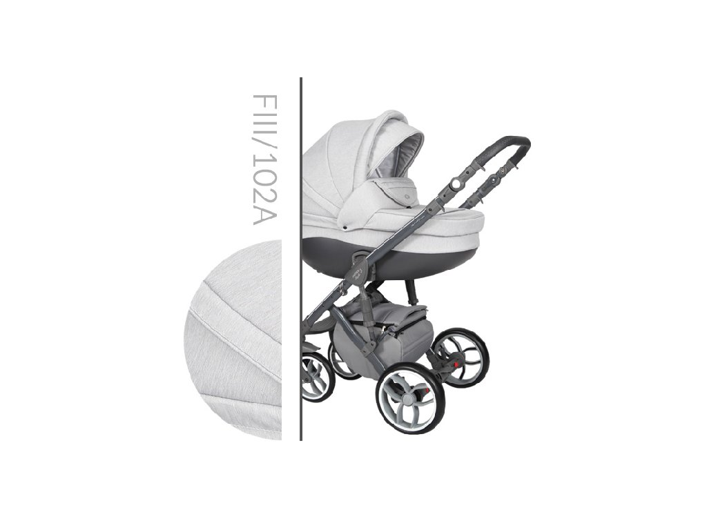 Kočárek BABY MERC Faster 3 Style - F3 102 2021