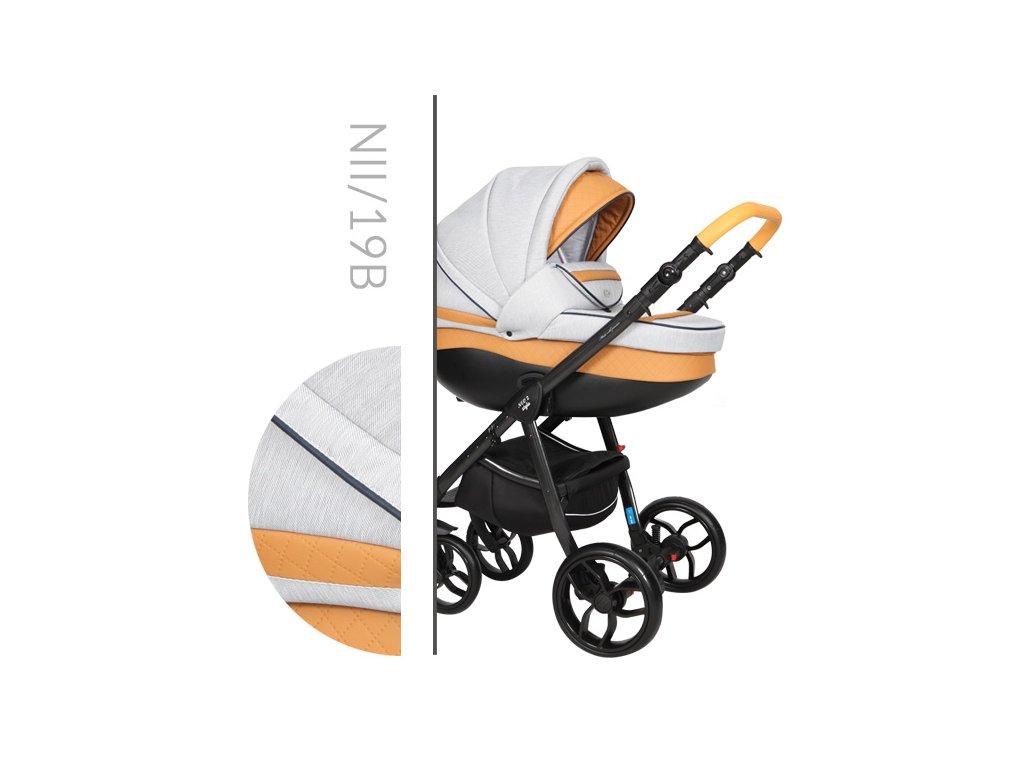Kočárek BABY MERC NEO 2 STYLE NII/19 2019