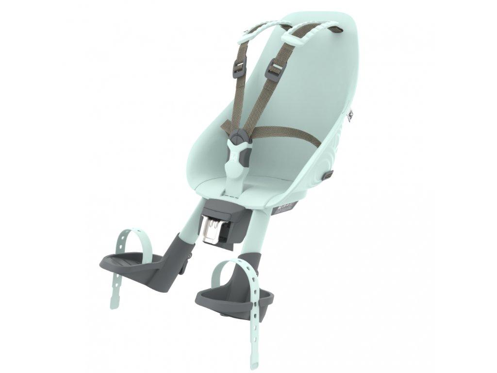 Přední sedačka Urban Iki s upínacím adaptérem Aotake Mentolově Modrá