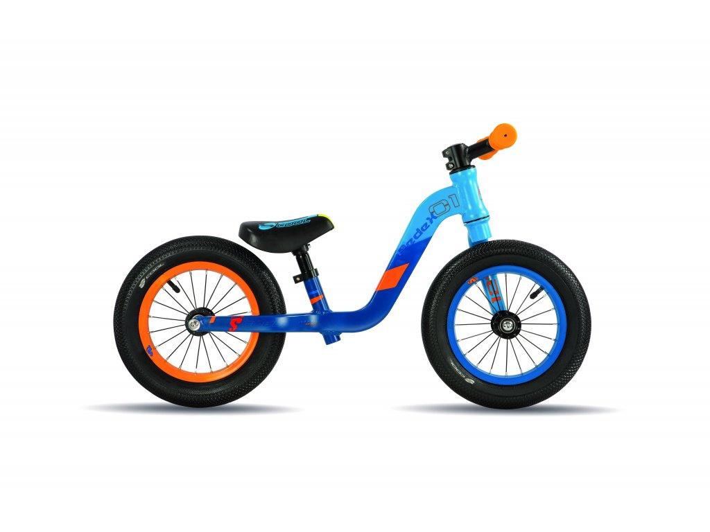 Dětské odrážedlo  S'COOL pedeX 1 modro-oranžové
