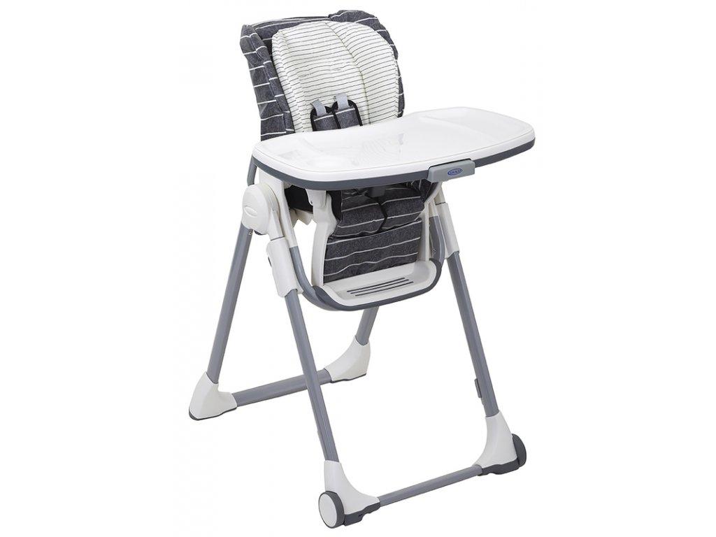 Graco jídelní židlička Swift fold suits me