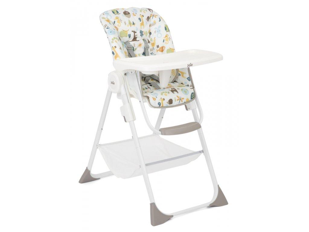 Joie jídelní židlička Snacker 2in1 alphabet