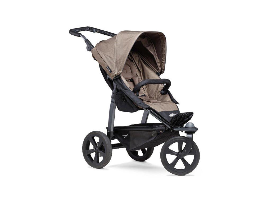 TFK sportovní kočárek Mono stroller - air chamber wheel brown
