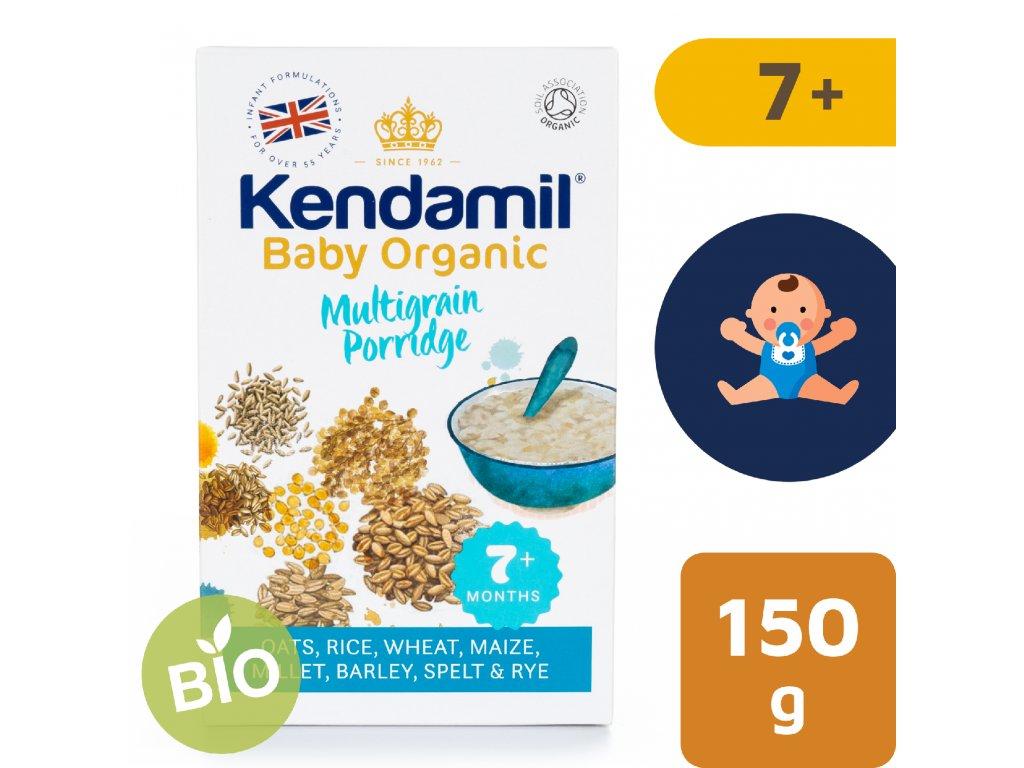 Kendamil BIO/Organická dětská vícezrnná kaše (150 g)