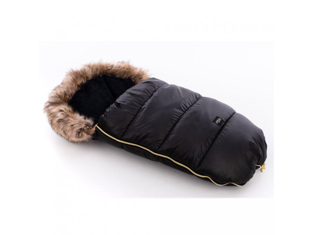 Fusak zimní  Puer Inverno No.1 Black-gold