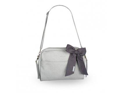 Beztroska Maja taška s mašlí light grey
