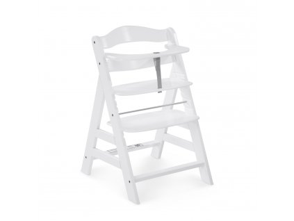 Hauck Alpha+  dřevená židle, white