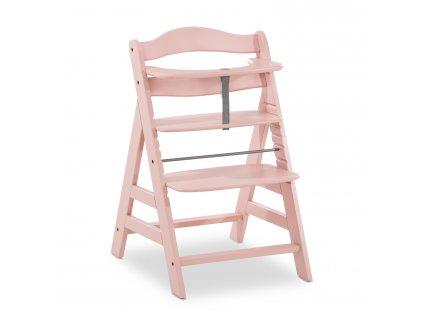 Hauck Alpha+  dřevená židle, rose