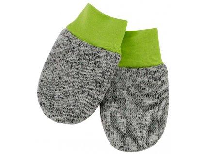 ESITO Dětské zimní rukavice Oliver  vel. 56 - 68 - 56 / zelená ESRUKZIMOLI