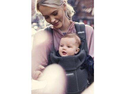 Babybjorn ergonom.nosítko MOVE Anthracite 3D Mesh