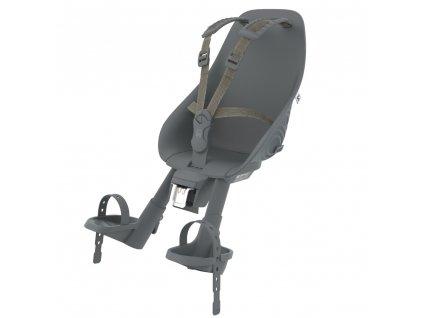 Přední sedačka Urban Iki s upínacím adaptérem - Bincho Black/Bincho Black