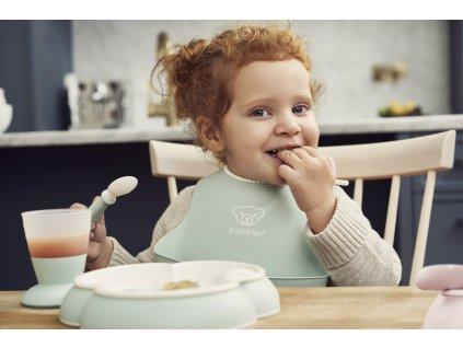 vyr 273 Baby Dinner Set Powder Green