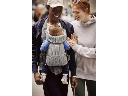 vyrp12 350Baby Carrier Move Grey 3D Mesh 3