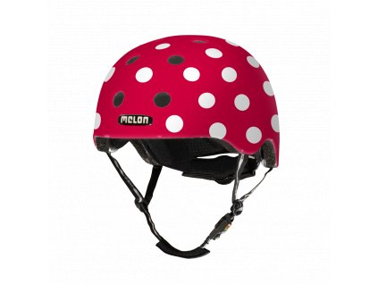 Melon Helmets URBAN ACTIVE .MUA.G049M Dotty White