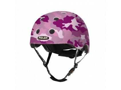 Melon Helmets URBAN ACTIVE .MUA.G081M Camouflage Pink