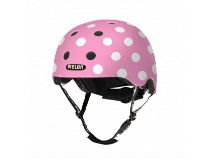 Melon Helmets URBAN ACTIVE .MUA.G050M Dotty Pink
