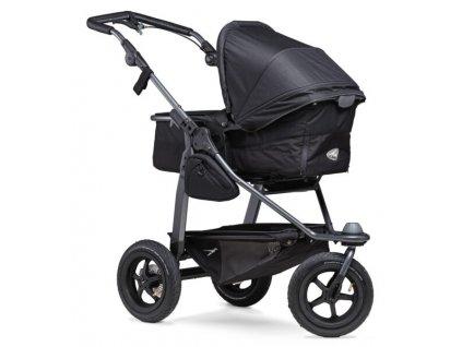 TFK kombinovaný kočárek Mono combi pushchair - air wheel black
