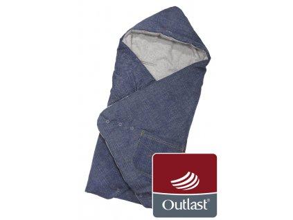 Little Angel zavinovačka zavinovačka multifunkční Jeans Outlast 2020