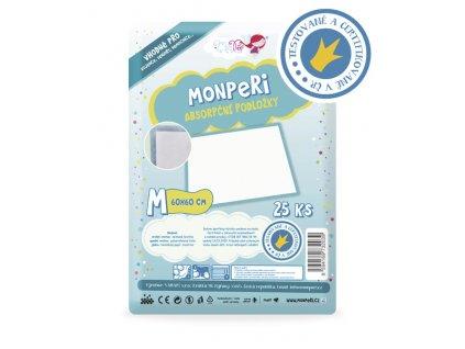 MonPeri absorpční podložky 60x60 cm podložky M