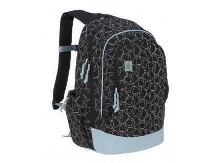 Lässig 4kids dětský batoh Big Backpack Spooky black