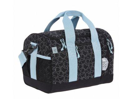 Lässig 4kids dětská sportovní taška Mini Sportsbag 2020 Spooky black