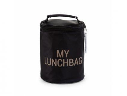 Childhome Termotaška na jídlo My Lunchbag Black Gold