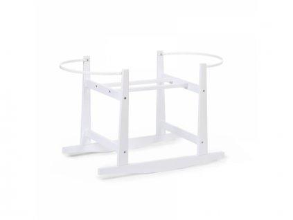Childhome Houpací stojan pro košík na miminko White