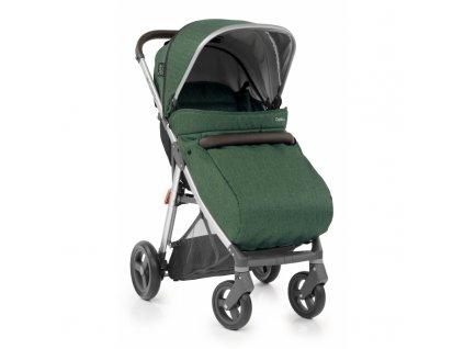 Dětský nánožník na kočárek BabyStyle Oyster Zero Barva: Alpine green