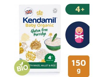 Kendamil BIO/Organická dětská bezlepková kaše (150 g)