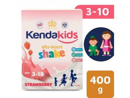 Kendakids instantní nápoj pro děti s příchutí jahoda (400 g)