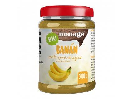 Ovocné pyré banánové BIO 200g