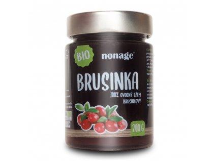 Ovocný džem brusinkový BIO 200g