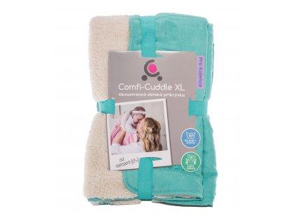 Dětská deka Comfi-Cuddle 140x100cm, Tiffany Blue