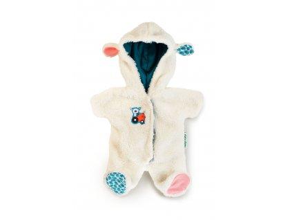 Lilliputiens - zimní overal pro panenky - ovečka