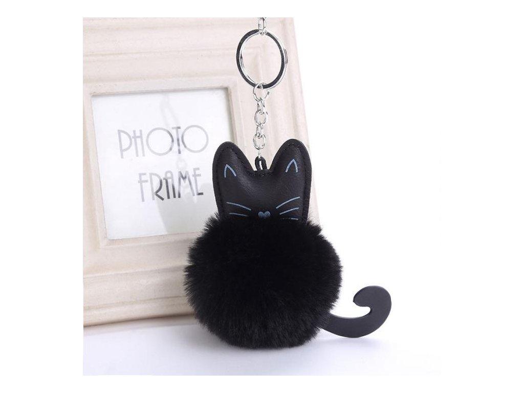 zdarma černá chlupatá kočička com