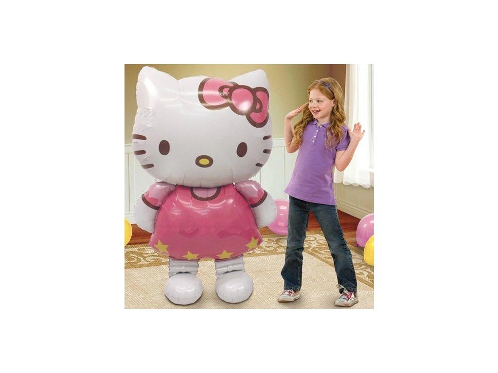"""Balónek kočka Hello Kitty v """"životní velikosti"""""""