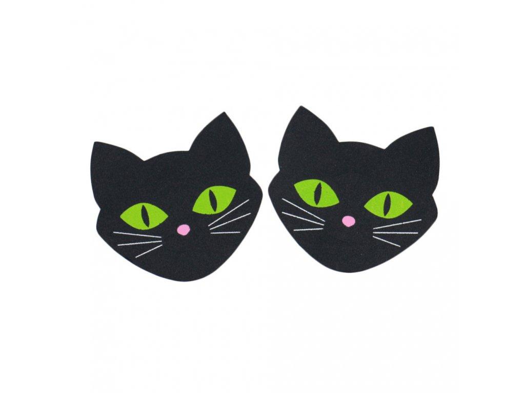 kočka samolepky na bradavky