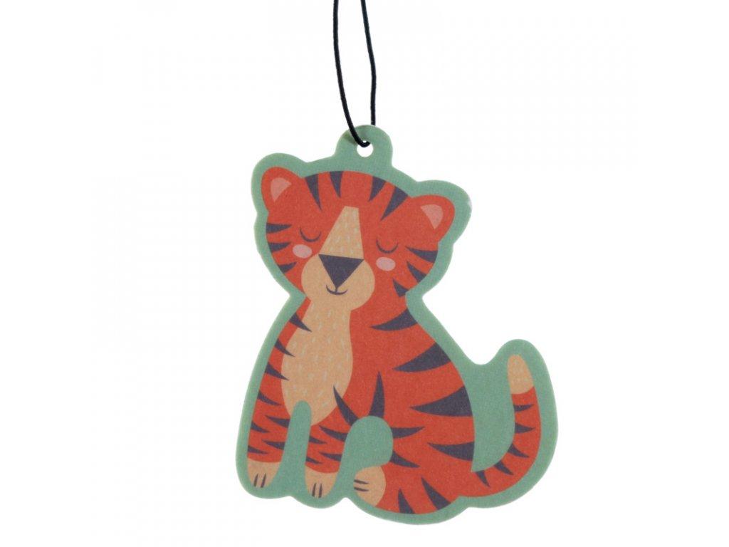 tygr kočka osvěžovač vzduchu bergamot