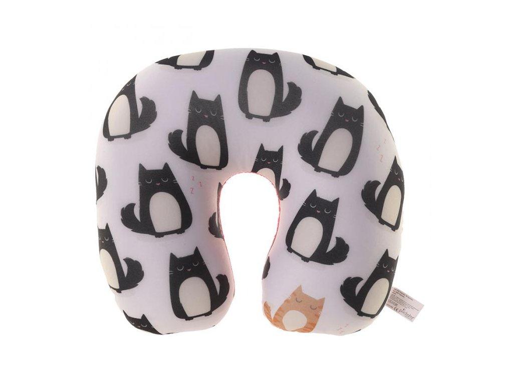 cestovní polštář kočka 1