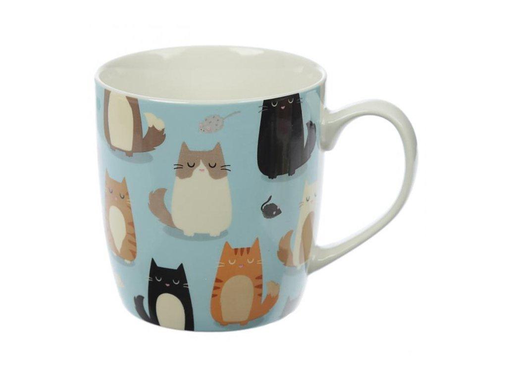 hrnek kočka s kočkou