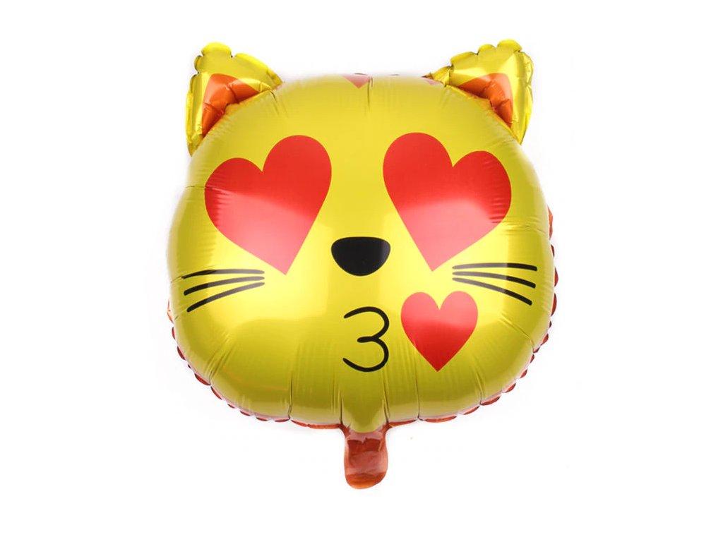 balonek kočka kočičí