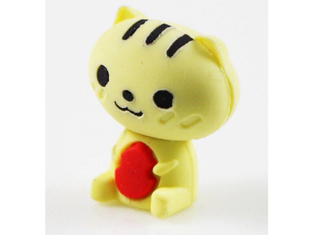 guma na tužku s kočkou kočičí kotě