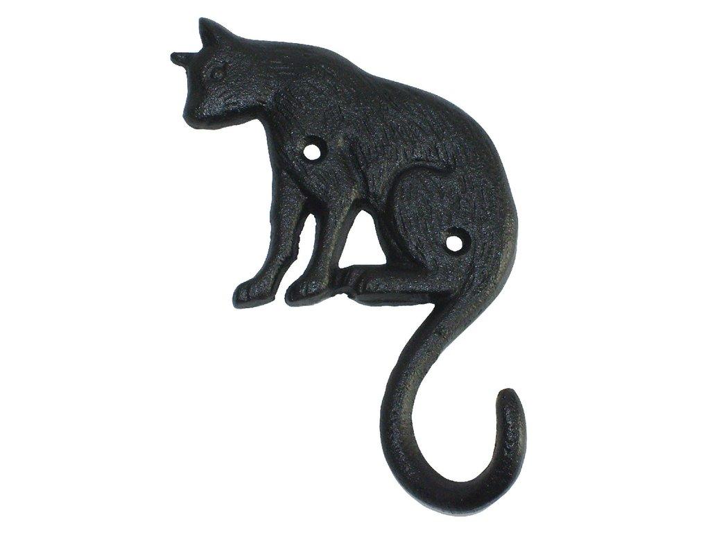 háček litinový kočka ocas